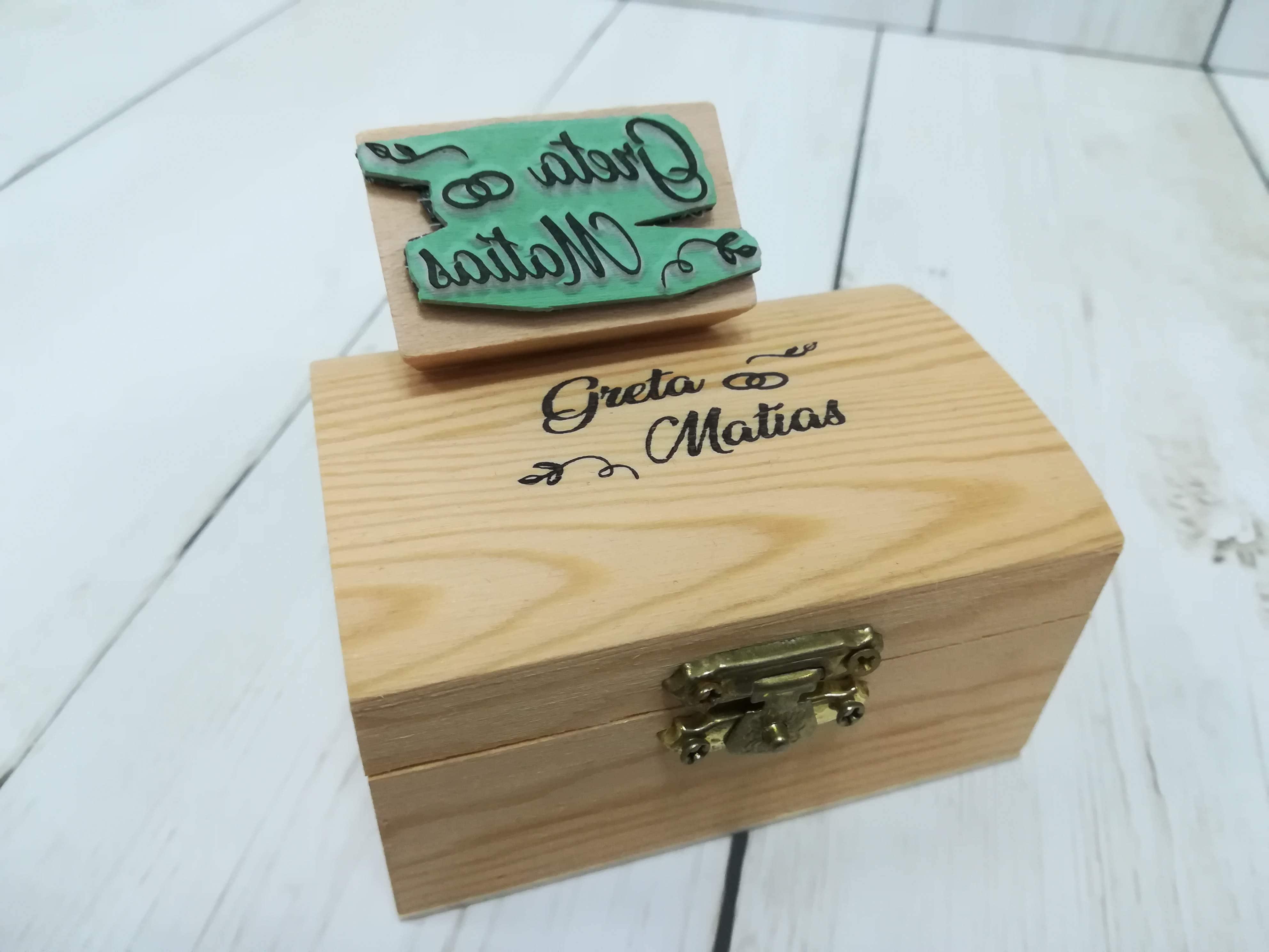 Sellos personalizados para madera