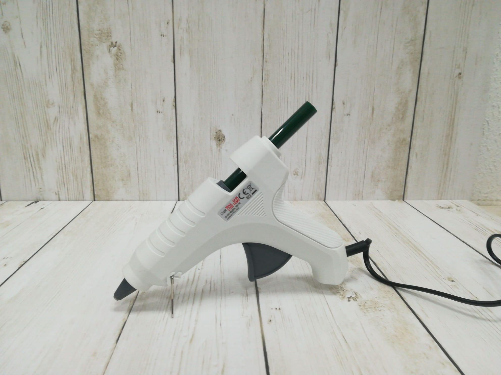 Pistola para derretir cera de lacre termofusible