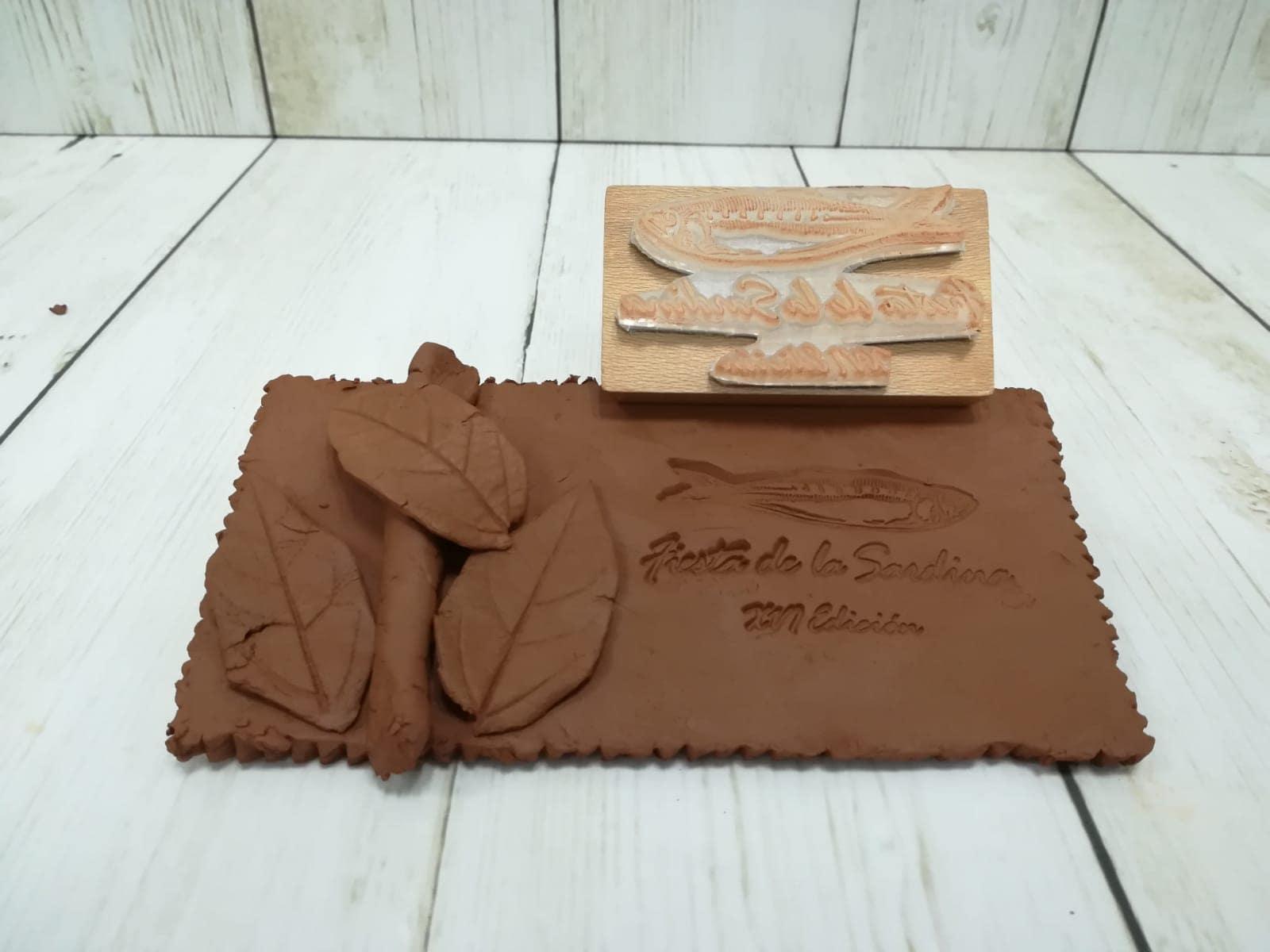 Sellos personalizados para barro y cerámica
