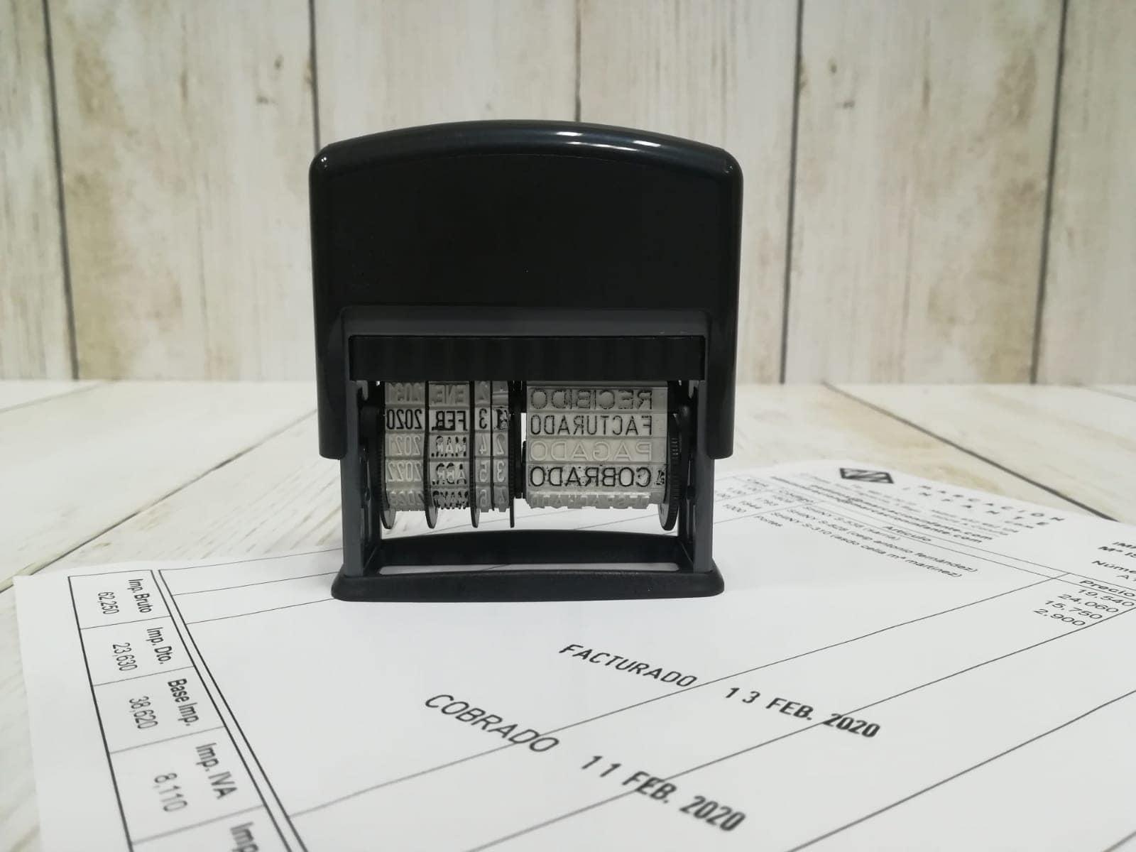 formulario fechador