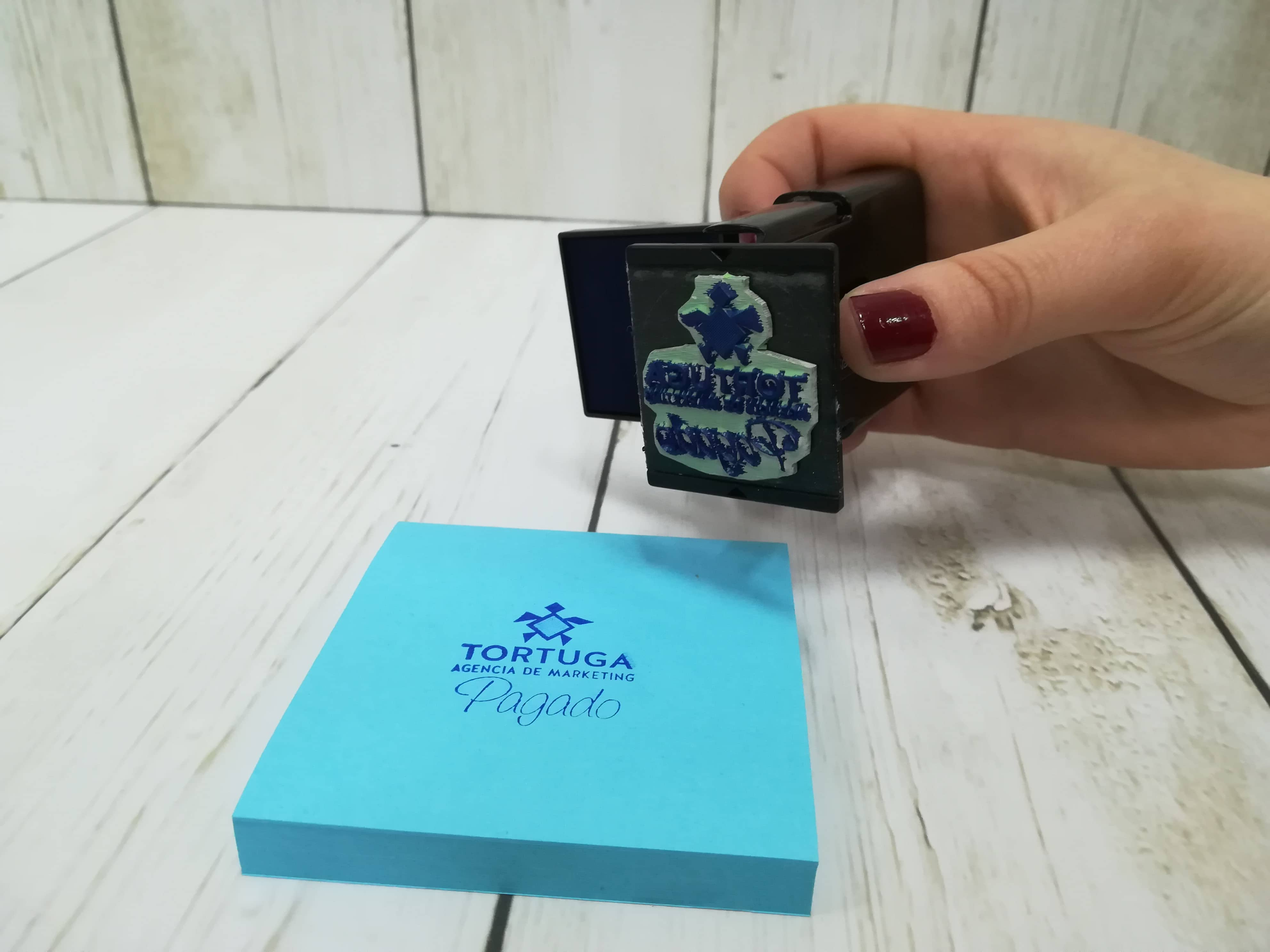 Sellos personalizados de bolsillo