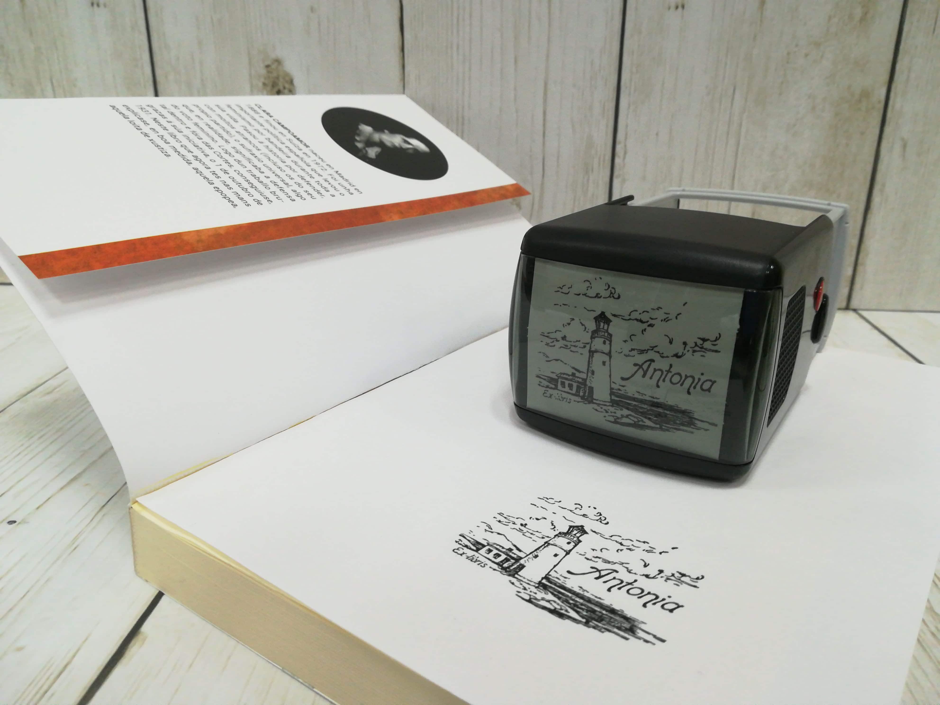 Sellos personalizados para libros (Ex-libris)