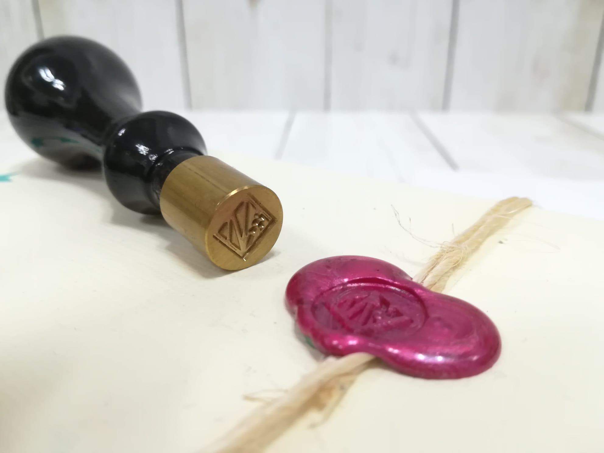 Sellos de lacre personalizados para empresa