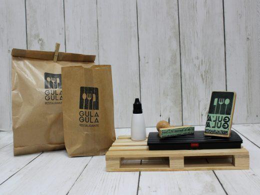 Sellos para personalizar la paquetería de tu restaurante