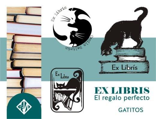 Ex-libris de gatitos
